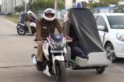 નર્મદા પોલીસની બાઇક
