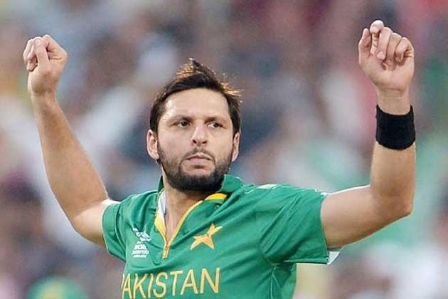 પાકિસ્તાની ક્રિકેટર શાહિદ આફ્રિદી આંતરરાષ્ટ્રીય ક્રિકેટમાંથી આઉટ