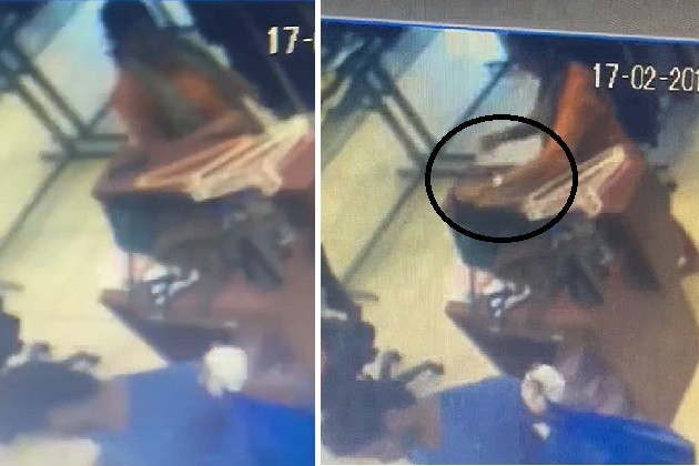 સુરતઃએકઝિબિસન સેલમાં ધનિક મહિલાએ પર્સ ચોર્યું,CCTVમાં થયો પર્દાફાશ