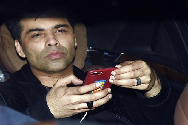 ફિલ્મ મેકર કરણ જોહર પણ તેની બેસ્ટ ફ્રેન્ડ કરિનાનાં ભાઇની બર્થ ડે પાર્ટીમાં પહોચી ગયો હતો