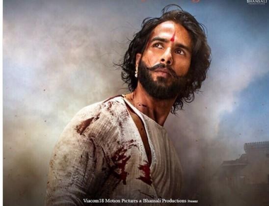 આ ફિલ્મમાં શાહિદ કપૂર રાજા રામ રતન સિંઘનાં પાત્રમાં છે જે રાણી પદ્માવતિનાં પતિ હતાં